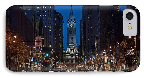 Broad Street Phone Case by John Greim