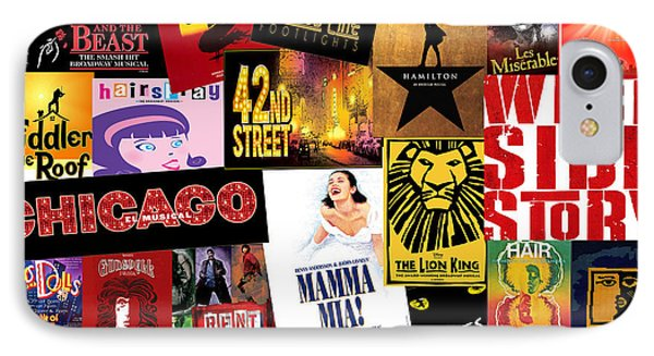 Broadway 10 IPhone Case by Andrew Fare