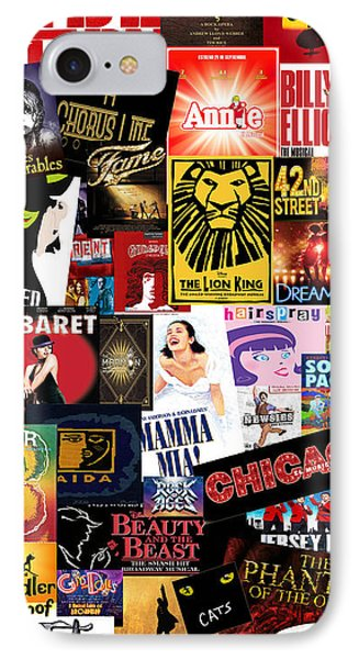 Broadway 9 IPhone Case by Andrew Fare