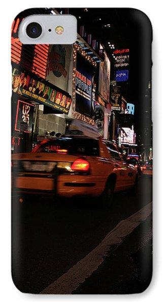 Broadway Lights Phone Case by Karol Livote