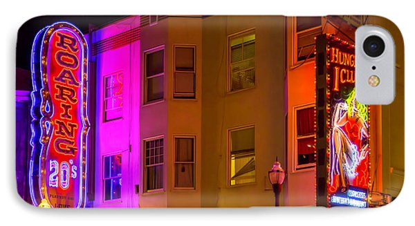 Broadway Neon IPhone Case by Garry Gay
