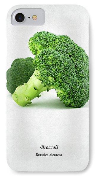 Broccoli IPhone 7 Case by Mark Rogan