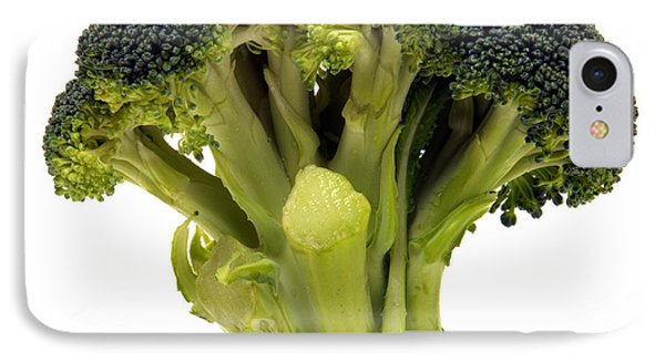 Broccoli  IPhone 7 Case by Olivier Le Queinec