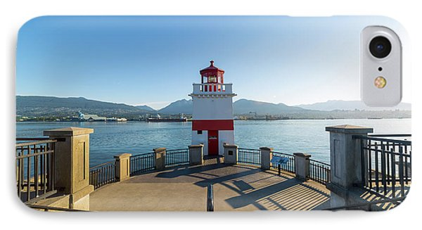 Brockton Point Lighthouse At Stanley Park Phone Case by David Gn