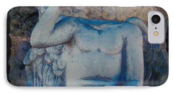 Broken Angel  Mono Lake IPhone Case by Ann Tracy