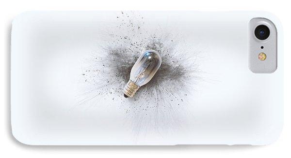 Broken Bulb IPhone Case by Scott Norris