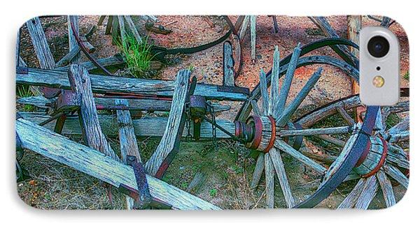 Broken Down Wagon IPhone Case by Garry Gay