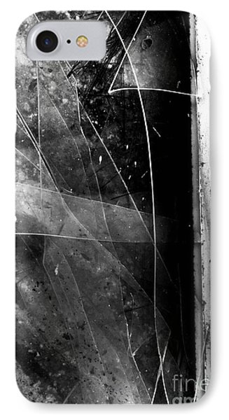 Broken Glass Window IPhone Case by Jorgo Photography - Wall Art Gallery