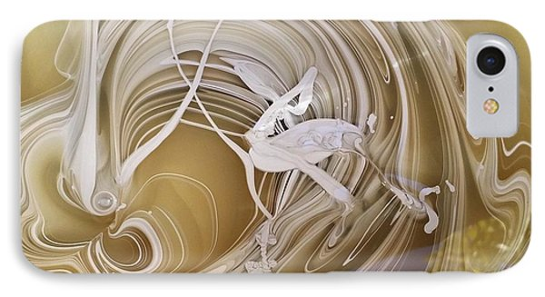 Broken Neck Flamingo IPhone Case by Gyula Julian Lovas