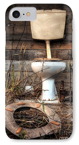 Broken Toilet IPhone Case by Carlos Caetano