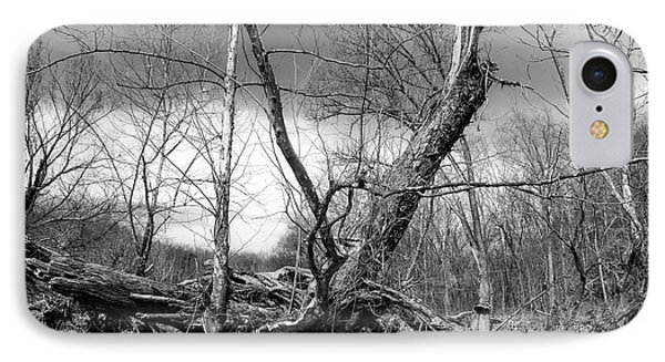 IPhone Case featuring the photograph Broken Tree by Alan Raasch