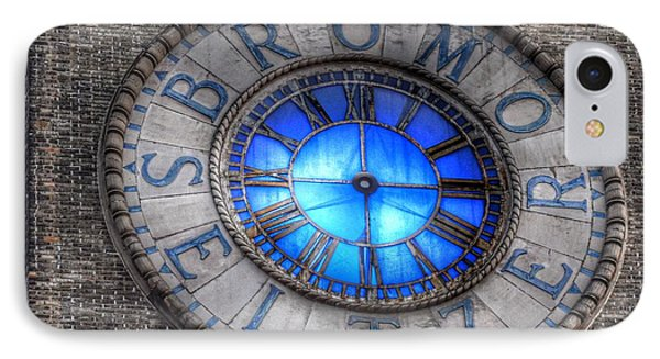 Bromo Seltzer Tower Clock Face #4 IPhone Case