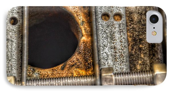 Bromo Seltzer Tower's 1911 Seth Thomas Clock Mechanism Abstract #11 IPhone Case