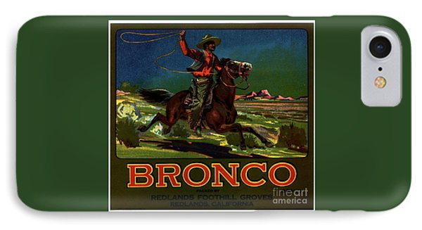 Bronco Redlands California IPhone Case by Peter Gumaer Ogden