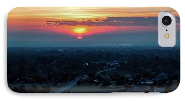 Bronco Sunsrise IPhone Case by Jon Burch Photography