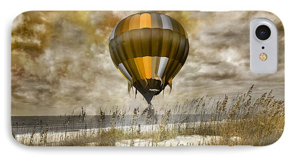 Bronze Beach Ballooning IPhone Case by Betsy Knapp