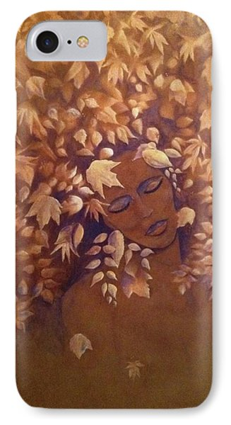 Bronze Beauty IPhone Case by T Fry-Green