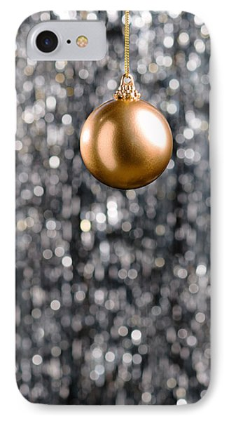 IPhone Case featuring the photograph Bronze Christmas  by Ulrich Schade