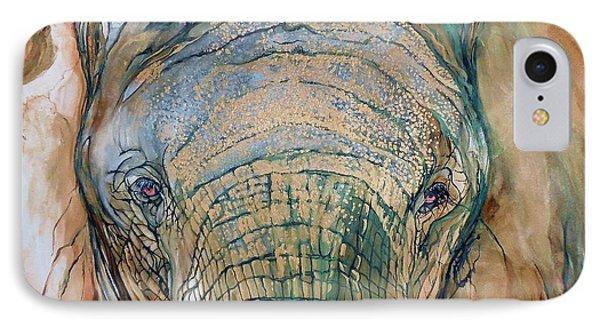 Bronze Elephant IPhone Case