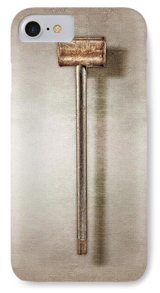 Bronze Hammer IPhone Case by YoPedro
