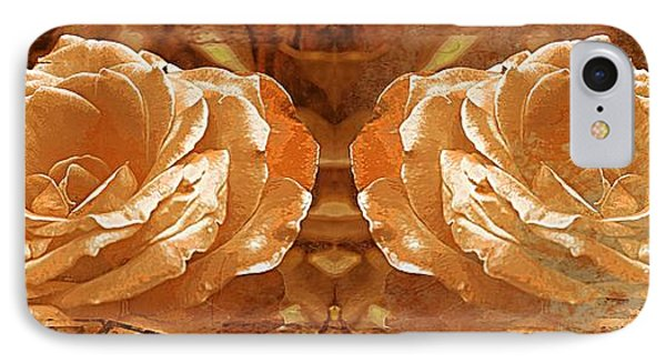 Bronzed IPhone Case by Clare Bevan