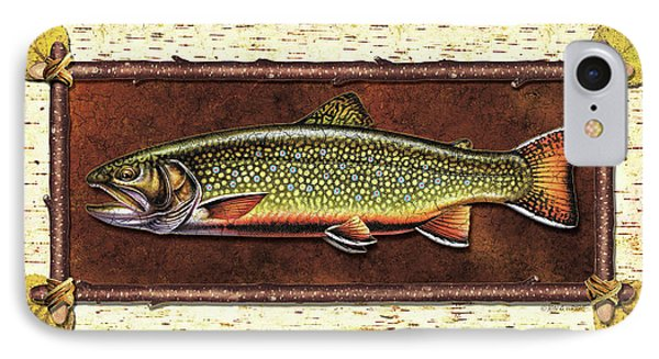 Brook Trout Lodge IPhone Case by JQ Licensing