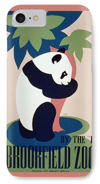 Brookfield Zoo Panda Phone Case by Unknown