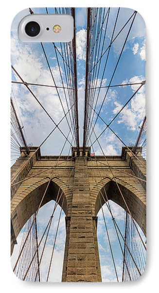 IPhone Case featuring the photograph Brooklyn Bridge 3 by Emmanuel Panagiotakis