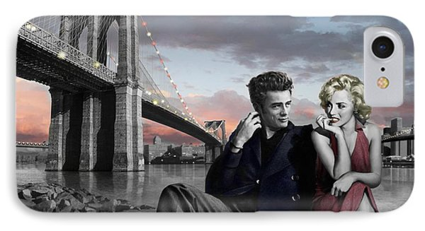 Brooklyn Bridge IPhone 7 Case by Chris Consani