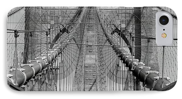 IPhone Case featuring the photograph Brooklyn Bridge by Emmanuel Panagiotakis