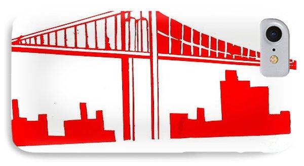 Brooklyn Bridge IPhone Case by Michael Grubb