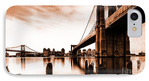 Brooklyn Bridge Ny 02 IPhone Case