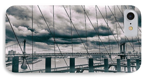 Brooklyn Bridge Views IPhone Case by Jessica Jenney