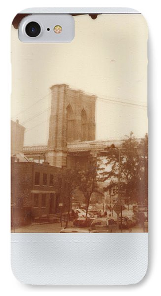 Brooklyn Bridge With Ip Px100 Film IPhone Case