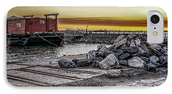 Brooklyn Waterfront Sunset IPhone Case by Jeffrey Friedkin