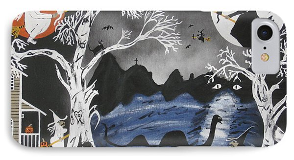 IPhone Case featuring the painting Broom Express by Jeffrey Koss