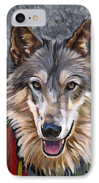 Brother Wolf Phone Case by J W Baker