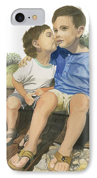 Brotherly Love IPhone Case by Ferrel Cordle