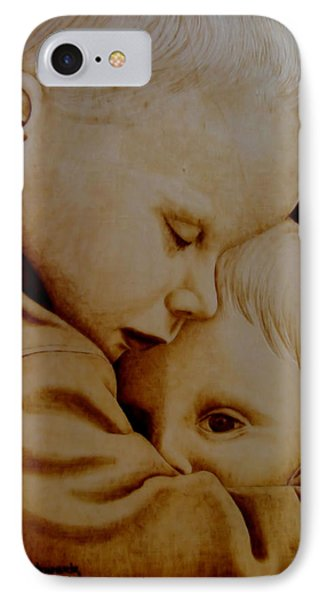 Brotherly Love IPhone Case by Jo Schwartz