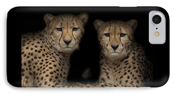 Brothers IPhone Case by Cheri McEachin