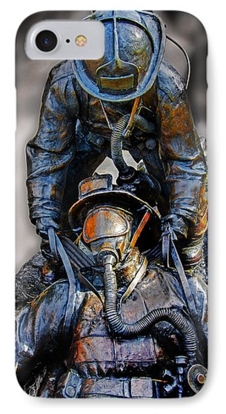 Brothers II IPhone Case by Susan McMenamin