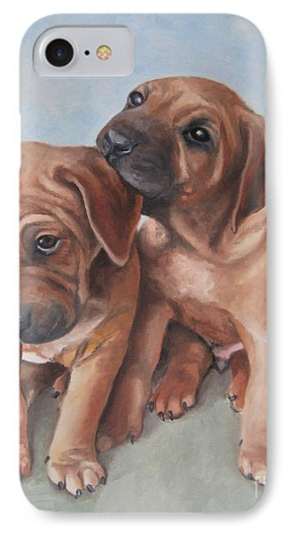 Brothers Phone Case by Jindra Noewi
