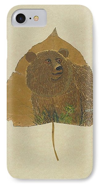 Brow Bear #2 IPhone Case by Ralph Root
