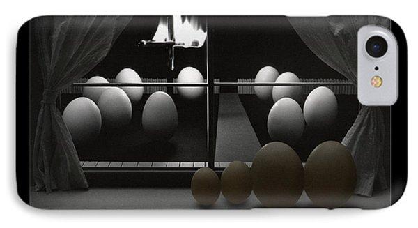Brown Egg Nightmare Phone Case by Mike McGlothlen