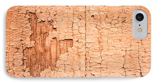 Brown Paint Texture IPhone Case by John Williams