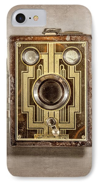 Brownie Six-20 Front IPhone Case by YoPedro