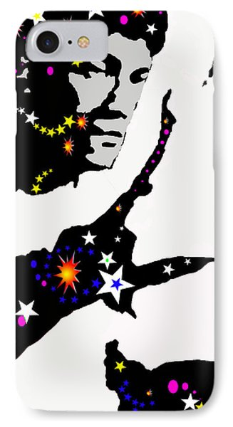 IPhone Case featuring the drawing Bruce Lee Moving His Hands by Robert Margetts