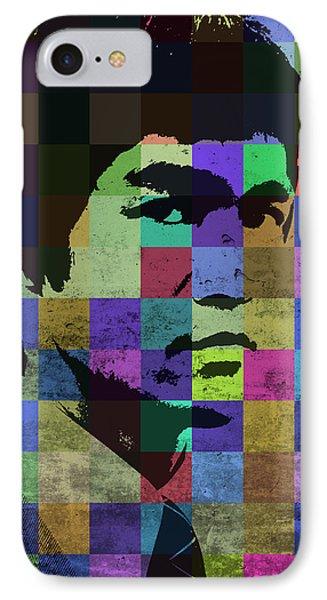 Bruce Lee Pop Art Portrait Iconic Colors IPhone Case by Design Turnpike