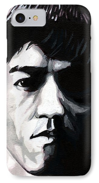 Bruce Lee Portrait IPhone Case
