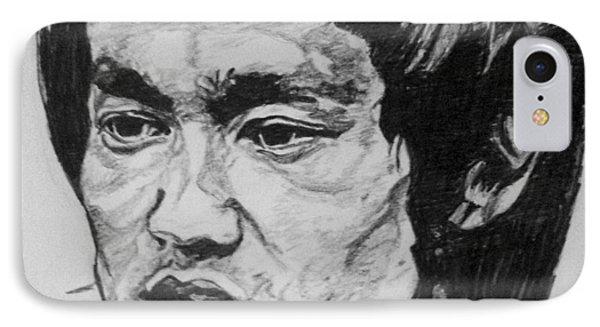 Bruce Lee IPhone 7 Case by Rachel Natalie Rawlins